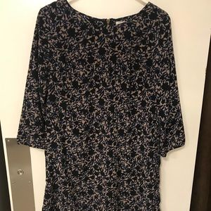 Fall toned shift dress medium old navy